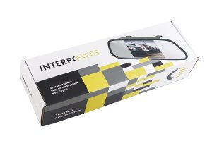 Зеркало Interpower со встроенным монитором 4.3