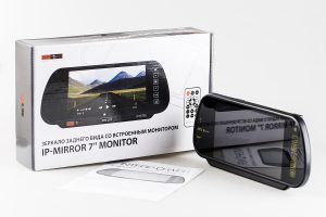 Зеркало Interpower со встроенным монитором 7 Bluetooth