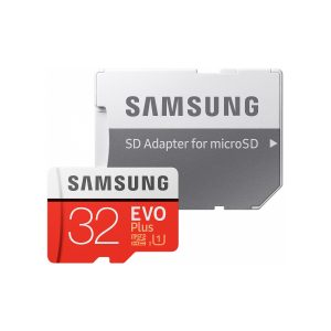 Карта памяти Samsung EVO Plus microSDHC 32GB