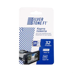 Карта памяти SilverStone F1 SDHC 32GB
